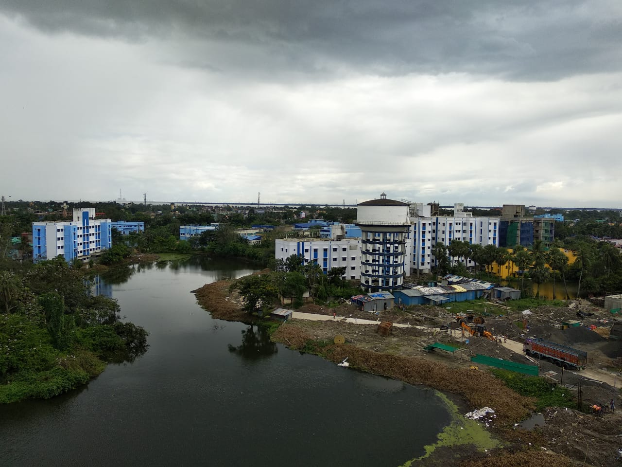 college top view